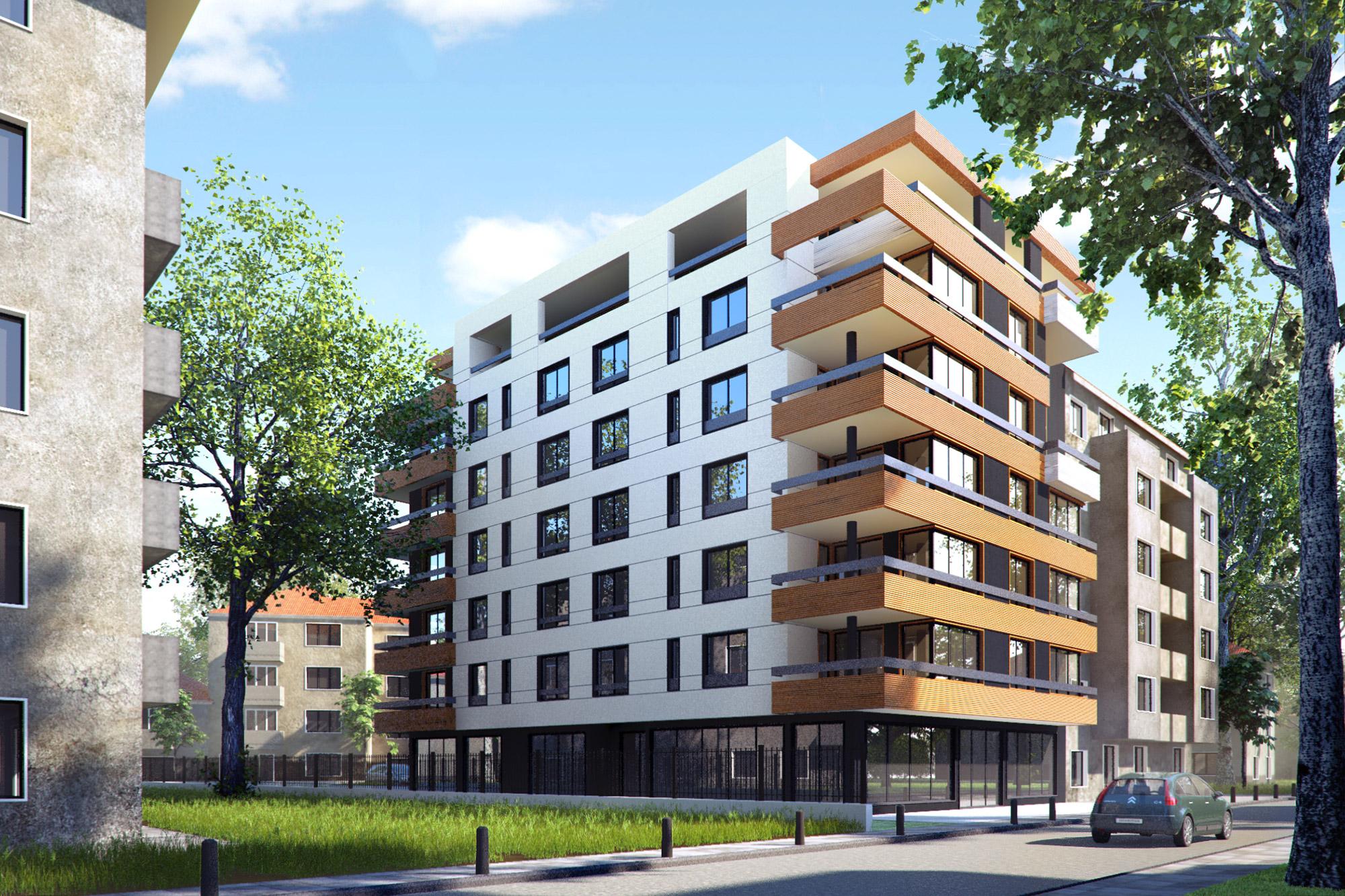 Residential building iztok sofia kunchevarchdesign for House builder