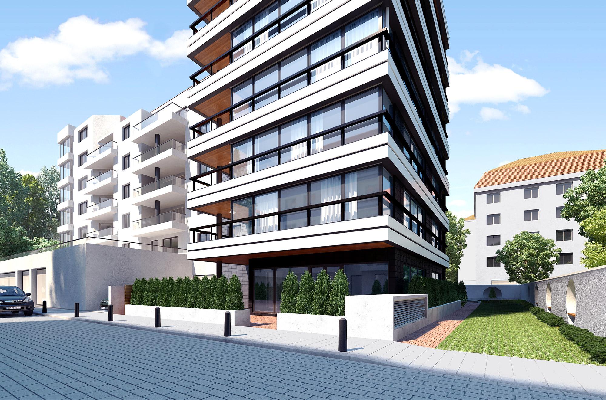 Residential Building Lozenets Sofia Kunchevarchdesign