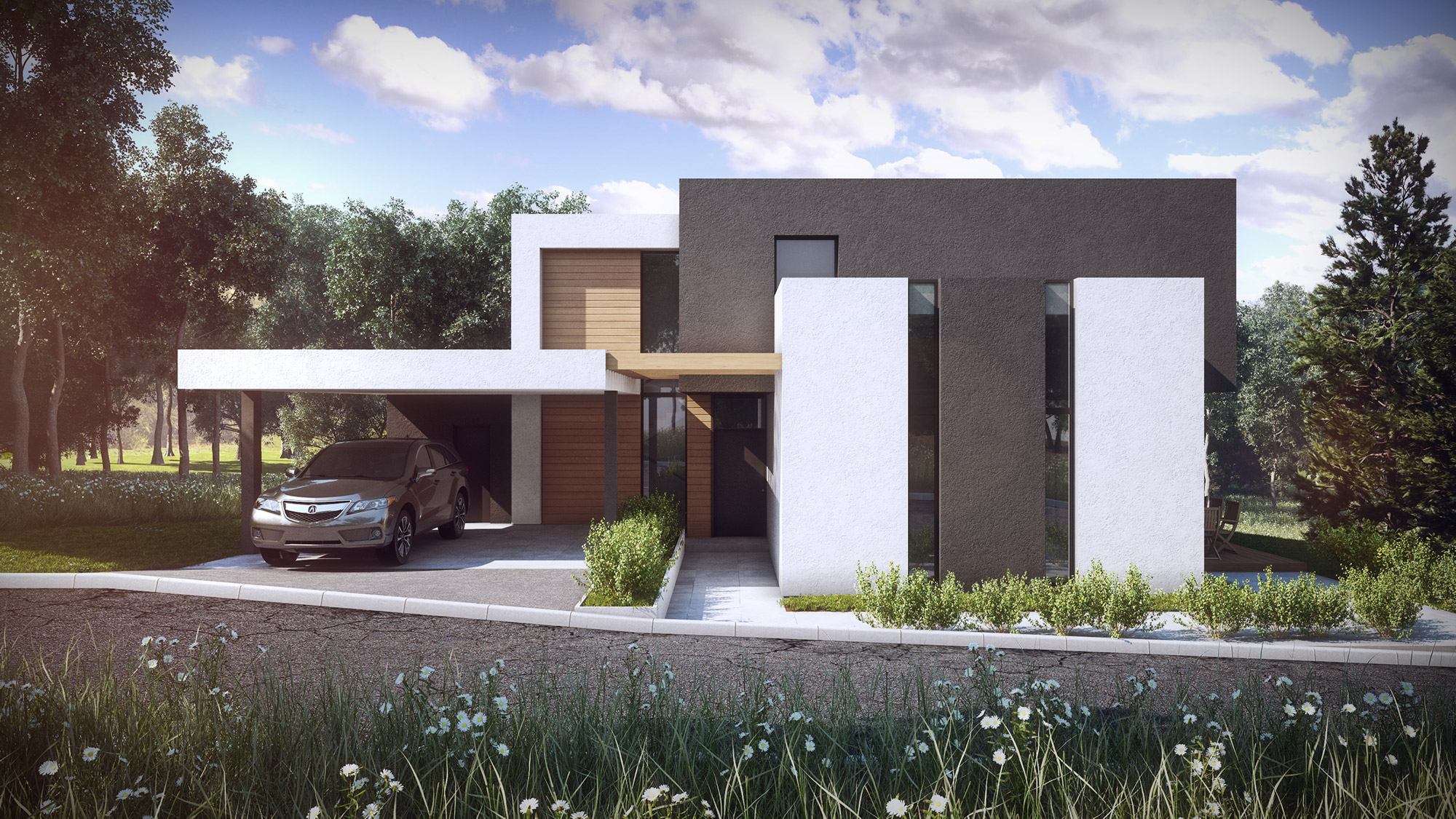 single family house dragalevci sofia kunchevarchdesign