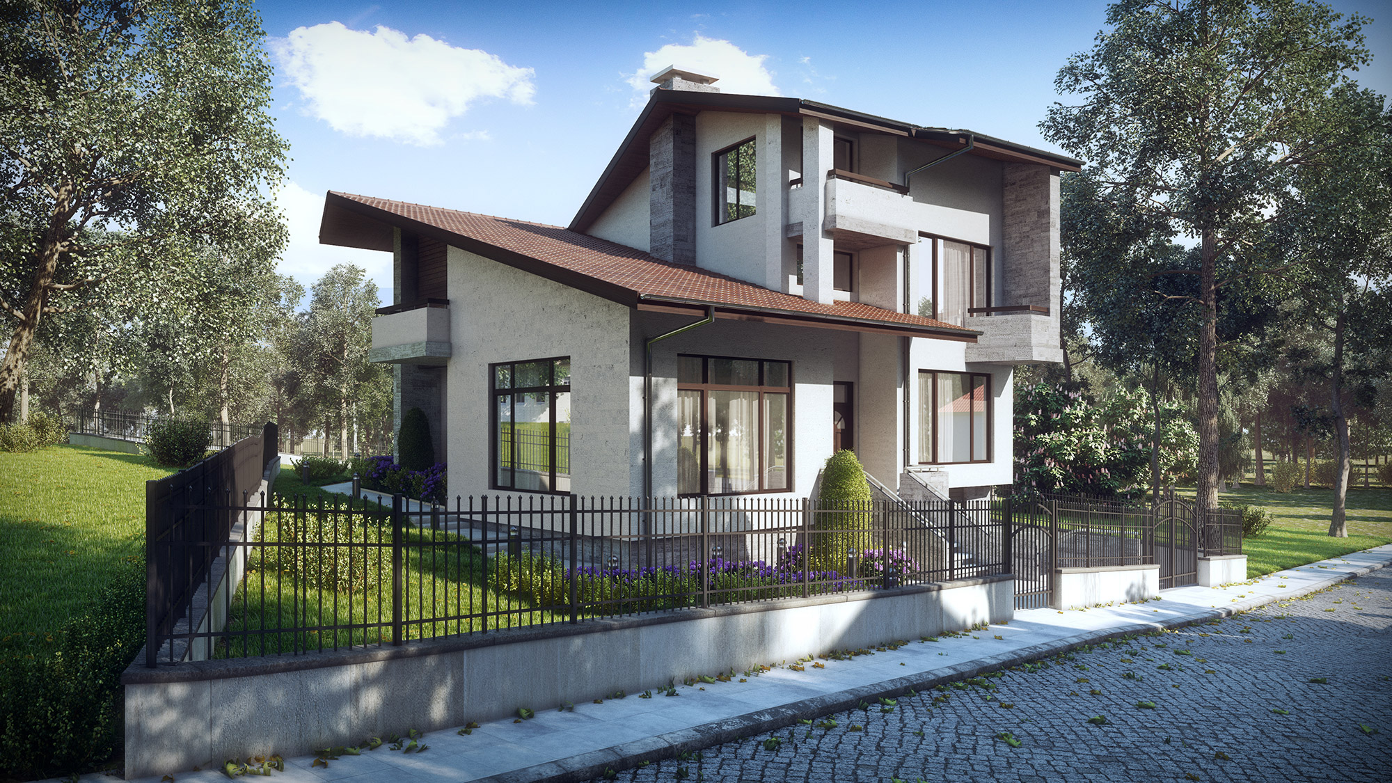 Single Family House Vitosha Sofia Kunchevarchdesign